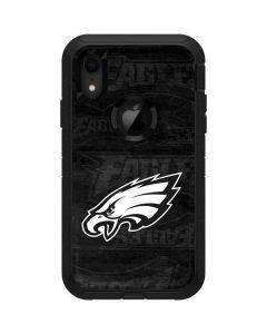 Philadelphia Eagles Black & White Otterbox Defender iPhone Skin