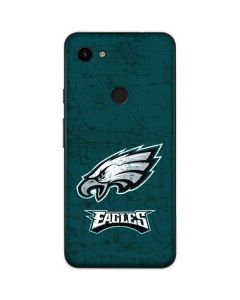 Philadelphia Eagles Distressed Google Pixel 3a Skin