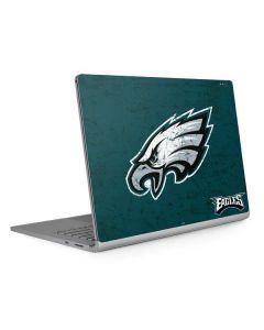 Philadelphia Eagles Distressed Surface Book 2 13.5in Skin