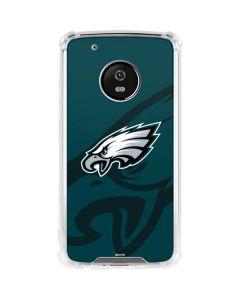 Philadelphia Eagles Double Vision Moto G5 Plus Clear Case