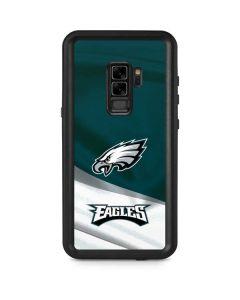 Philadelphia Eagles Galaxy S9 Plus Waterproof Case