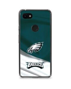 Philadelphia Eagles Google Pixel 3a XL Clear Case