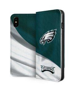 Philadelphia Eagles iPhone XS Folio Case