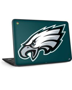 Philadelphia Eagles Large Logo HP Chromebook Skin