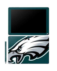 Philadelphia Eagles Large Logo Galaxy Book 12in Skin