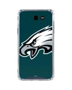 Philadelphia Eagles Large Logo Galaxy J7 (2017) Clear Case