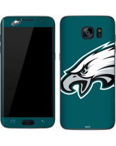 Philadelphia Eagles Large Logo Galaxy S7 Skin