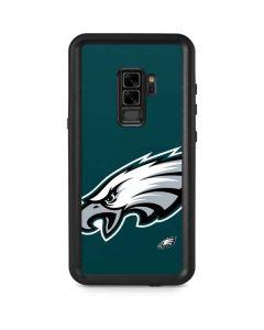 Philadelphia Eagles Large Logo Galaxy S9 Plus Waterproof Case