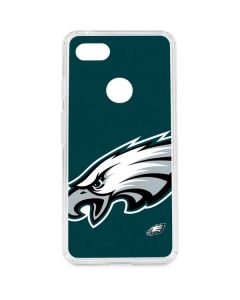 Philadelphia Eagles Large Logo Google Pixel 3 XL Clear Case