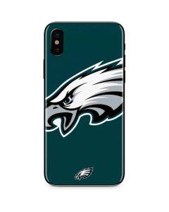 Philadelphia Eagles Large Logo iPhone X Skin