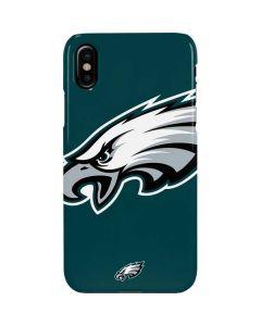 Philadelphia Eagles Large Logo iPhone XS Lite Case