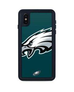 Philadelphia Eagles Large Logo iPhone XS Max Waterproof Case