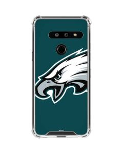 Philadelphia Eagles Large Logo LG G8 ThinQ Clear Case