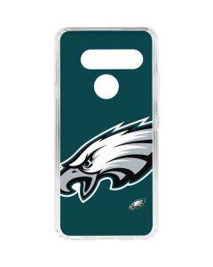 Philadelphia Eagles Large Logo LG V40 ThinQ Clear Case