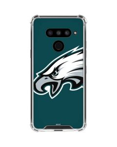 Philadelphia Eagles Large Logo LG V50 ThinQ Clear Case