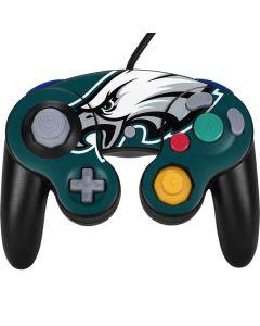 Philadelphia Eagles Large Logo Nintendo GameCube Controller Skin