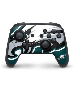 Philadelphia Eagles Large Logo Nintendo Switch Pro Controller Skin