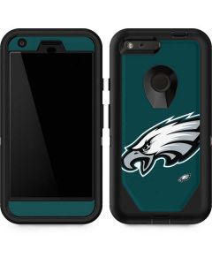 Philadelphia Eagles Large Logo Otterbox Defender Pixel Skin