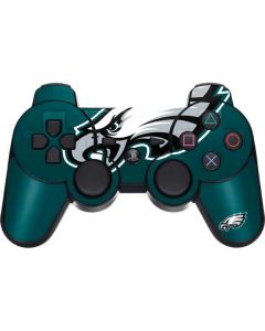 Philadelphia Eagles Large Logo PS3 Dual Shock wireless controller Skin