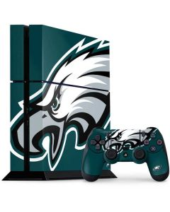 Philadelphia Eagles Large Logo PS4 Console and Controller Bundle Skin