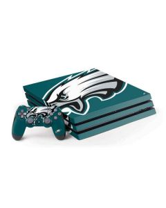 Philadelphia Eagles Large Logo PS4 Pro Bundle Skin