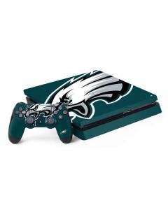 Philadelphia Eagles Large Logo PS4 Slim Bundle Skin