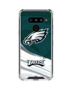 Philadelphia Eagles LG V50 ThinQ Clear Case
