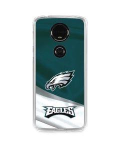Philadelphia Eagles Moto E5 Plus Clear Case