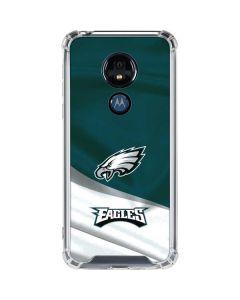 Philadelphia Eagles Moto G7 Power Clear Case
