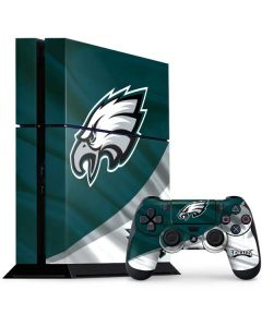 Philadelphia Eagles PS4 Console and Controller Bundle Skin