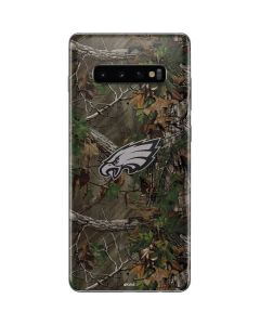 Philadelphia Eagles Realtree Xtra Green Camo Galaxy S10 Plus Skin