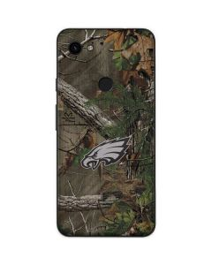 Philadelphia Eagles Realtree Xtra Green Camo Google Pixel 3a Skin