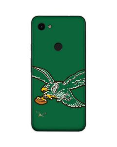 Philadelphia Eagles Retro Logo Google Pixel 3a Skin