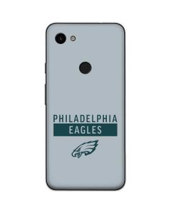 Philadelphia Eagles Silver Performance Series Google Pixel 3a Skin