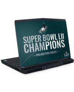 Philadelphia Eagles Super Bowl LII Champions Dell Alienware Skin