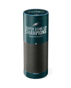 Philadelphia Eagles Super Bowl LII Champions Amazon Echo Skin