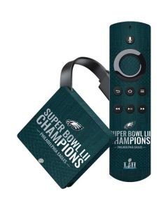 Philadelphia Eagles Super Bowl LII Champions Amazon Fire TV Skin