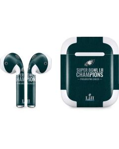 Philadelphia Eagles Super Bowl LII Champions Apple AirPods 2 Skin