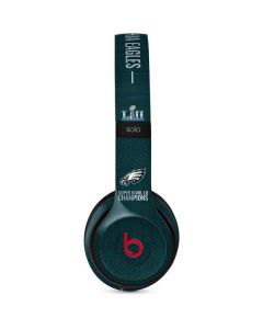 Philadelphia Eagles Super Bowl LII Champions Beats Solo 3 Wireless Skin