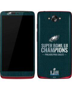 Philadelphia Eagles Super Bowl LII Champions Motorola Droid Skin