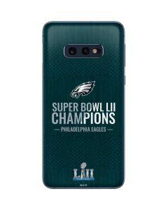 Philadelphia Eagles Super Bowl LII Champions Galaxy S10e Skin