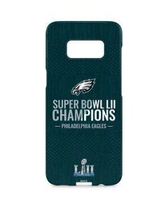 Philadelphia Eagles Super Bowl LII Champions Galaxy S8 Plus Lite Case