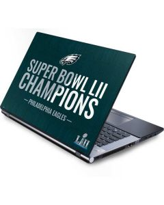 Philadelphia Eagles Super Bowl LII Champions Generic Laptop Skin