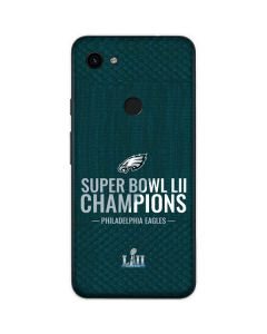 Philadelphia Eagles Super Bowl LII Champions Google Pixel 3a Skin