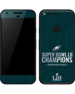 Philadelphia Eagles Super Bowl LII Champions Google Pixel Skin