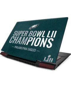 Philadelphia Eagles Super Bowl LII Champions Lenovo Ideapad Skin