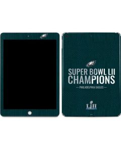 Philadelphia Eagles Super Bowl LII Champions Apple iPad Skin