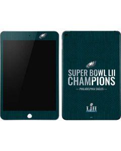Philadelphia Eagles Super Bowl LII Champions Apple iPad Mini Skin