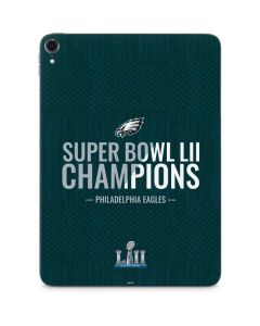 Philadelphia Eagles Super Bowl LII Champions Apple iPad Pro Skin