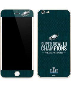 Philadelphia Eagles Super Bowl LII Champions iPhone 6/6s Plus Skin